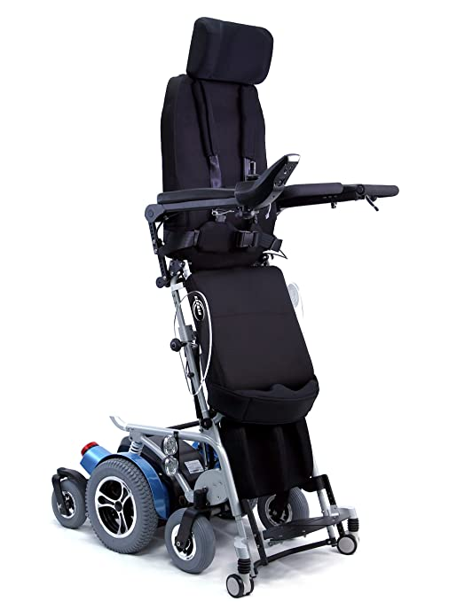 Karman XO-505 Fully Powered Standing Wheelchair with Power Recline, Power Legrest, 18 Inch