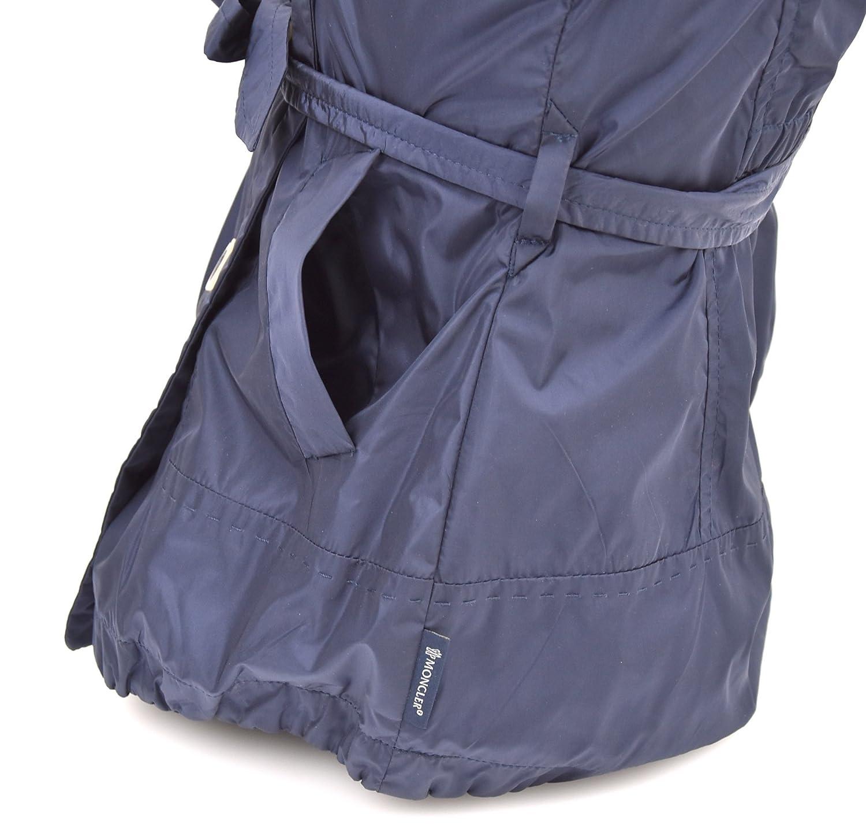 5708R giacca antivento bimba MONCLER BABY trench blu jacket kid [2 YEARS]: Amazon.es: Ropa y accesorios