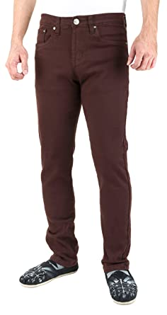 TNM Men's Super Skinny Jeans (26, Brown)