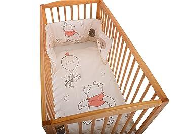 Disney Parure de lit pour bébé Motif Winnie l\'ourson Blanc: Amazon ...