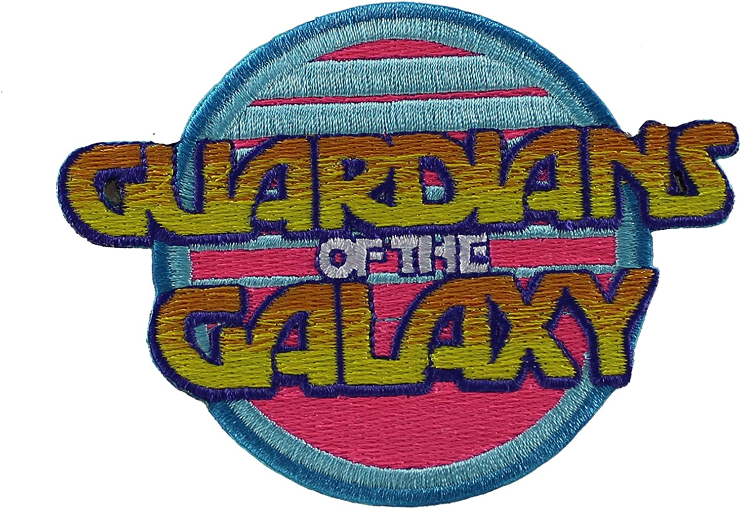 Official Marvel Comics Guardians Of The Galaxy Retro Iron on Applique Patch