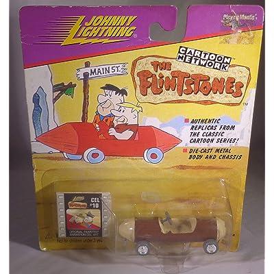 JOHNNY LIGHTNING CARTOON NETWORK THE FLINSTONES BARNEY RUBBLE'S SPORTS CAR: Toys & Games