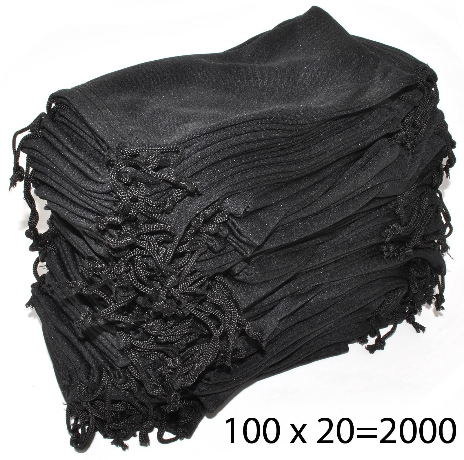 Wholesale Pouches Cleaning Case Bag Black 2000 PCS by OWL