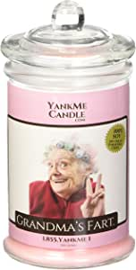 Yank Me Candle Grandma's Fart Candle (Scented)