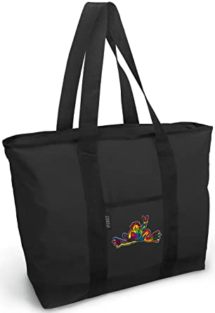 856f22466665 Peace Frogs Tote Bag Best Peace Frog Totes