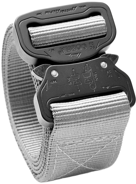 Cobra Quick Release Buckle Men's Tactical Belt – 1.5 Nylon Heavy Duty Belt