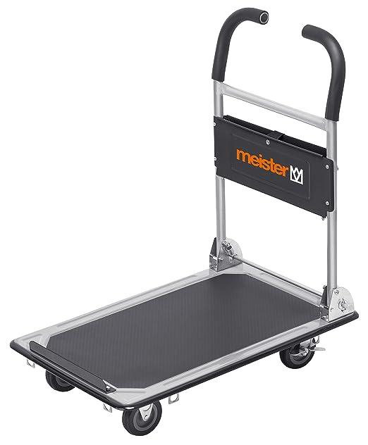 13 opinioni per Meister 8985620- Carrello pieghevole con piattaforma, carico massimo 150 kg