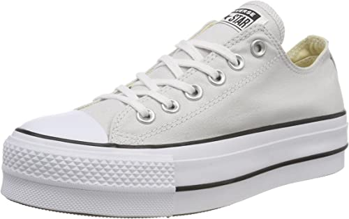 zapatos exclusivos vívido y de gran estilo como serch Amazon.com | Converse Women's CTAS Lift OX Mouse/White/Black ...