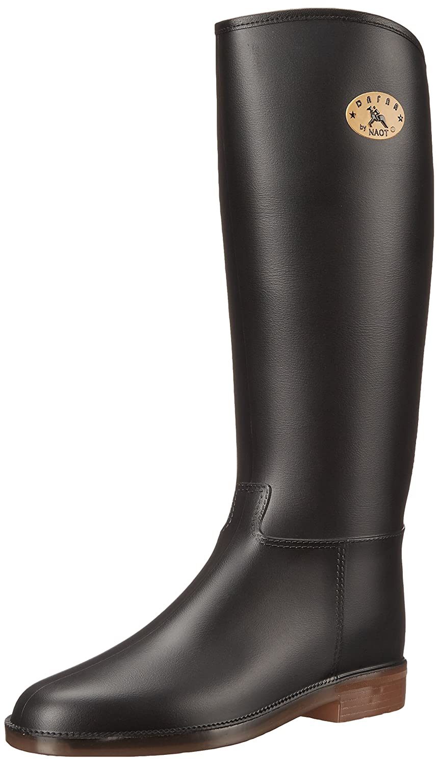 Dafna by Naot Women's Yvonne Rain Boot B00UUGYA7I 37 EU/6-6.5 M US|Black