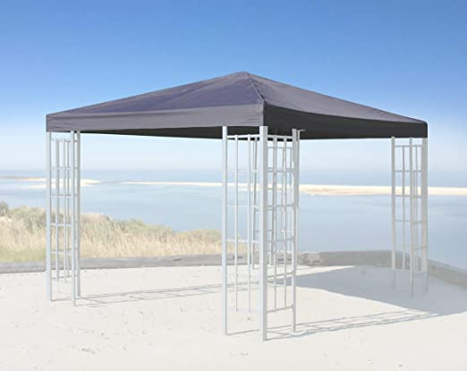 QUICK STAR Techo de repuesto para Gazebo Rank 3x3m Antracita ...