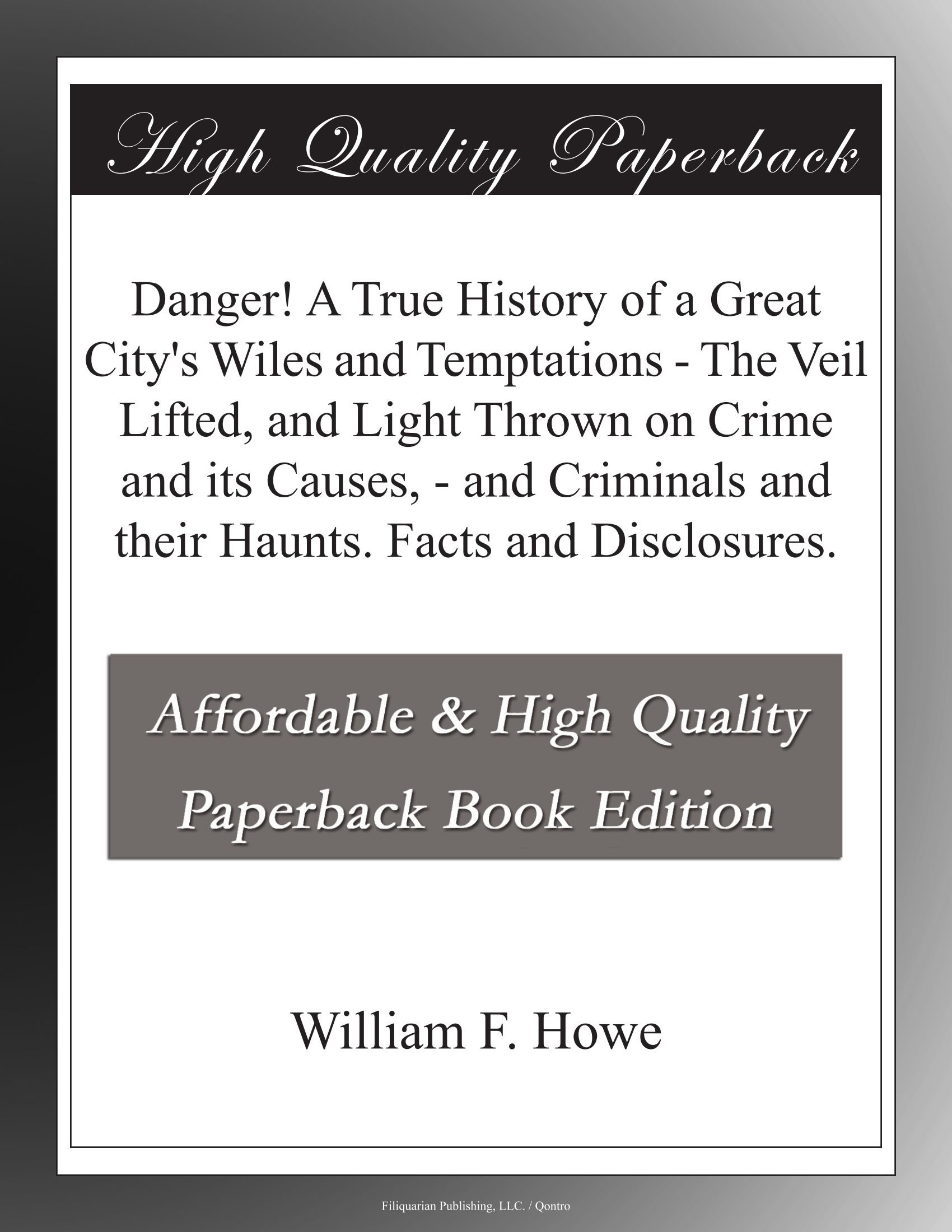 Danger History Great Citys Temptations product image
