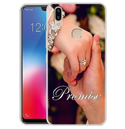new products c5801 e9eb2 Fashionury Vivo V9 Cover/Vivo V9 Back Cover/Vivo V9 Designer Printed Soft  Back Case - P388