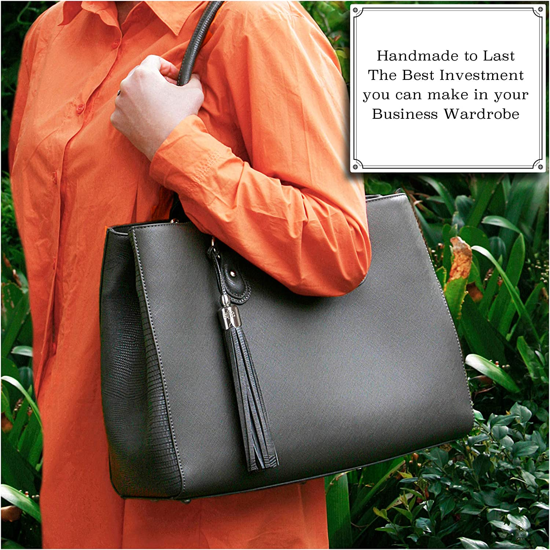 BFB Replacement Purse Handbag Laptop Bag Briefcase Messenger Travel Tote Handmade Shoulder Straps Make Your Bag Look Brand New with New Detachable Professional Designer Handles