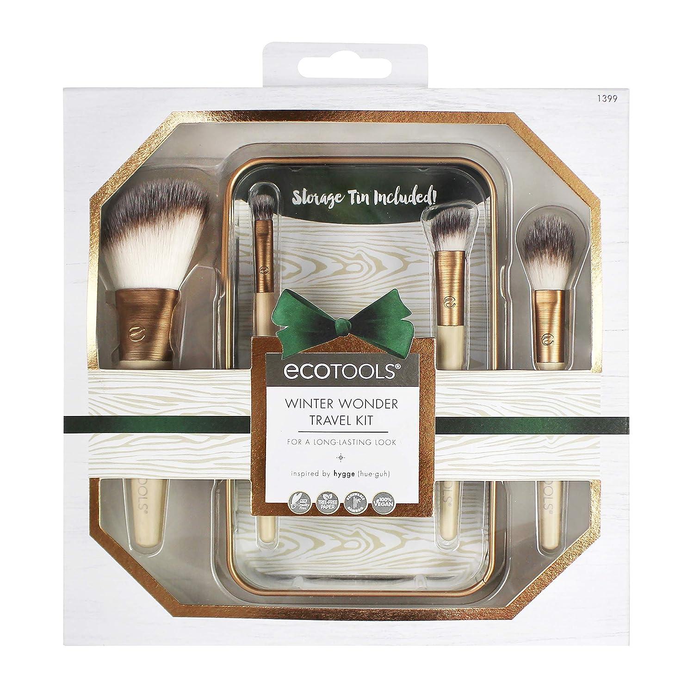 EcoTools Winter Wonder Travel Make-up Brush Set Paris Presents Inc 1399