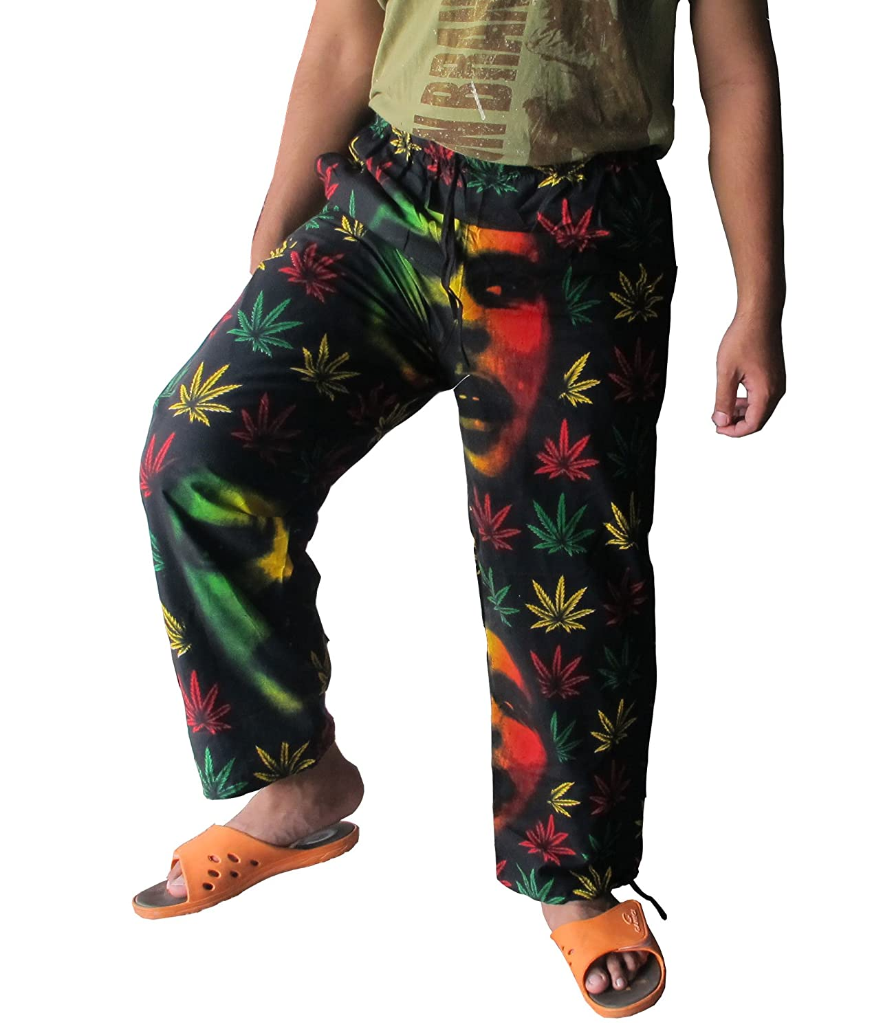 Free shpping Bob Marley Style With Colourfull Cotton Fit For Size 27-38 inches Long 38 inches