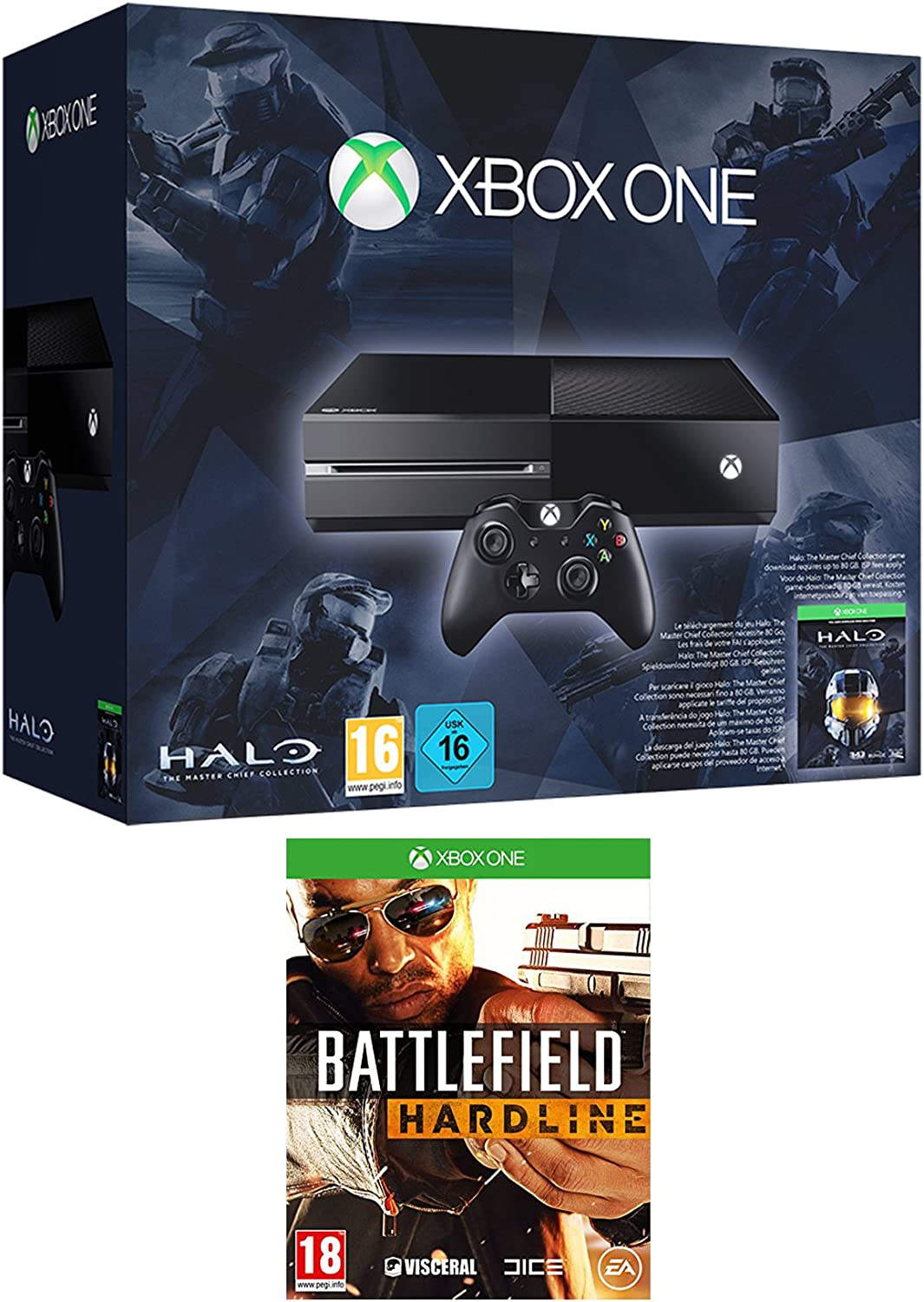 Xbox One Console With Halo: The Master Chief Collection And ...