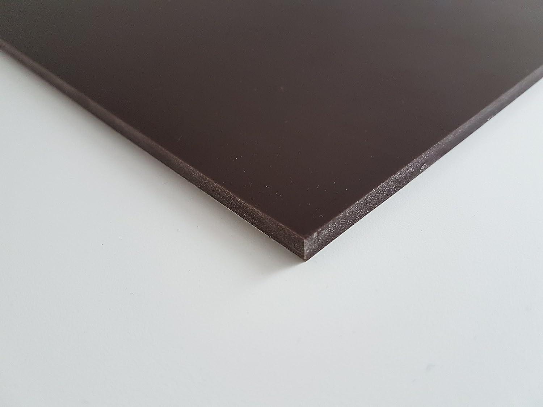 PU90-Platte braun Polyurethan 300x 200x 6mm