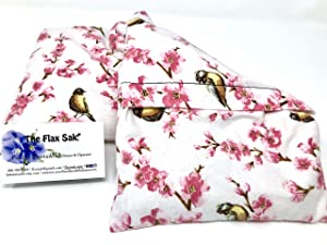 """Large microwavable heating pad, The""""Flax Sak"""" Hot/cold pack."""