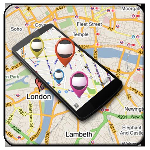 (GPS Navigation & Map Direction)