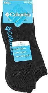 bb8c2eb1380 Columbia Womens Half Cushion Side Mesh Athletic Socks No Show 3-Pack