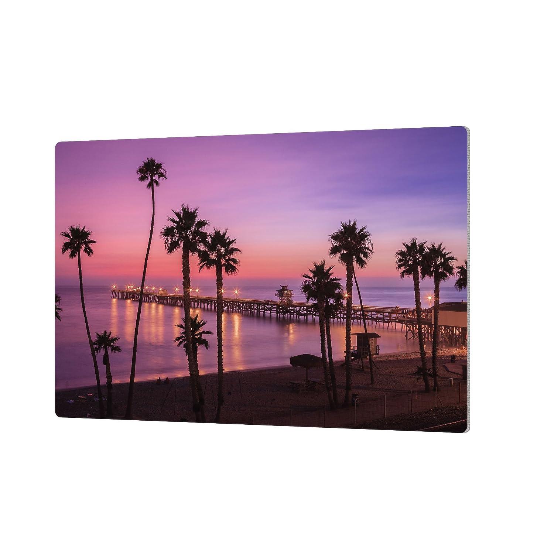 ArtWall Scott Campbells San Clemente Sunset Meditation Aluminum Print 24 x 36