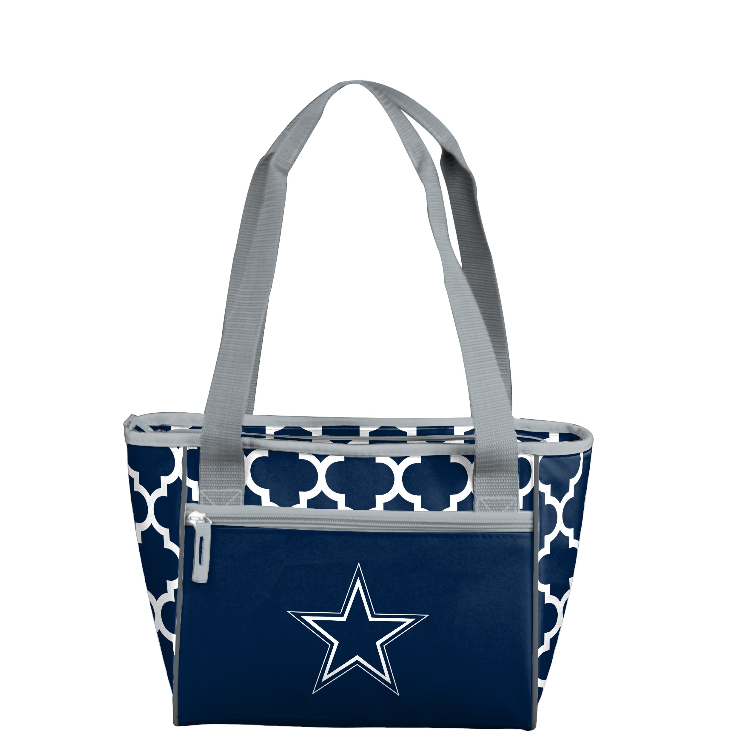 Logo Brands NFL Dallas Cowboys 16 Can Cooler Tote, Navy, One Size