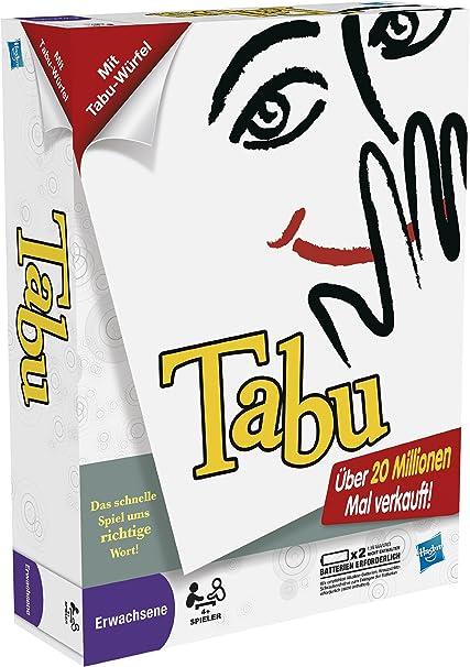 Hasbro 30658100 - Parker Tabu, Juego de Mesa en alemán [Importado de Alemania]: Amazon.es: Juguetes y juegos