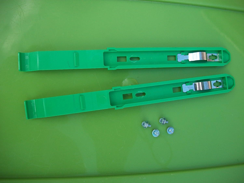 1 Pair Dell Dimension & Optiplex CDROM DVD-ROM Rails 86DVJ 99XHM with 4 Screws