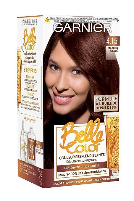Couleur cheveux marron glace garnier