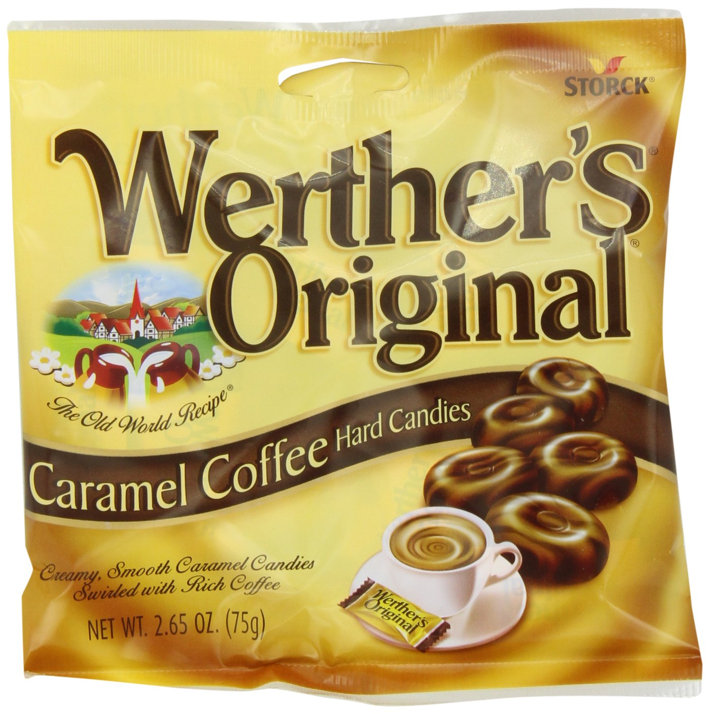 Werther's Original Caramel, Coffee, 2.65-Ounce (Pack of 12)