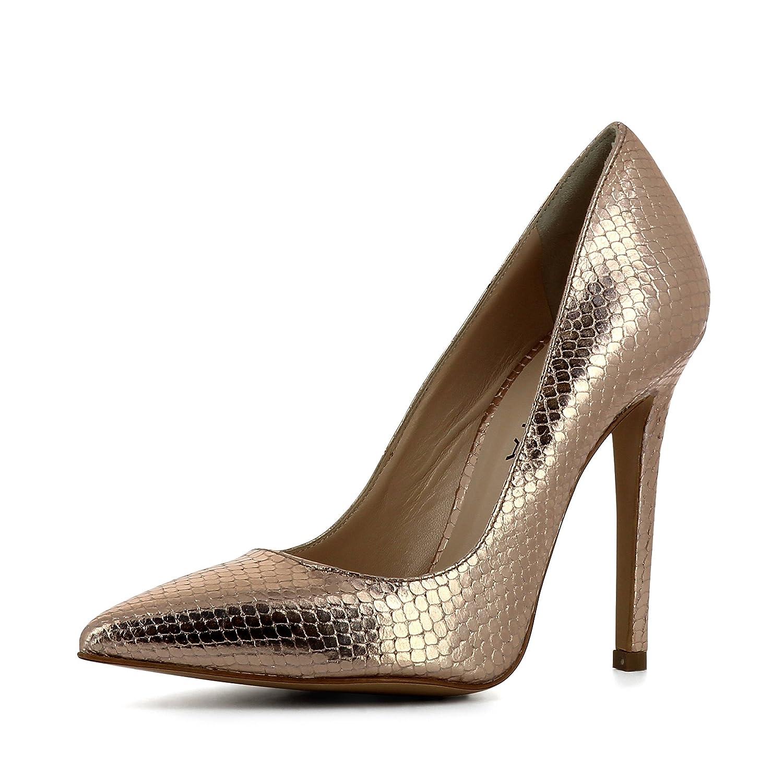 Evita Shoes Lisa - Zapatos de vestir de Piel para mujer 35|altrosa