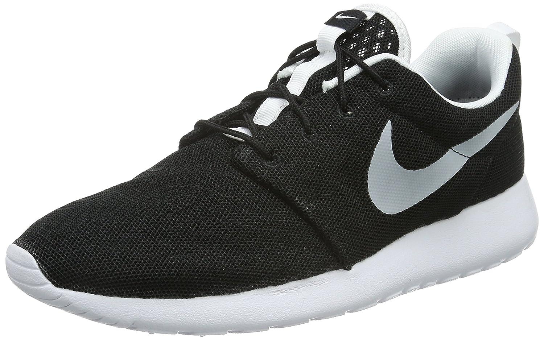 Nike Herren Roshe One Br Low-Top  45.5 EU|Schwarz (012 Black/White)