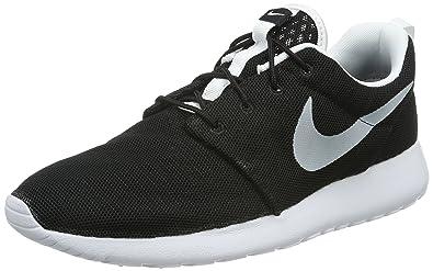 Nike Mens Roshe One BR Black White Mesh Trainers 8 US