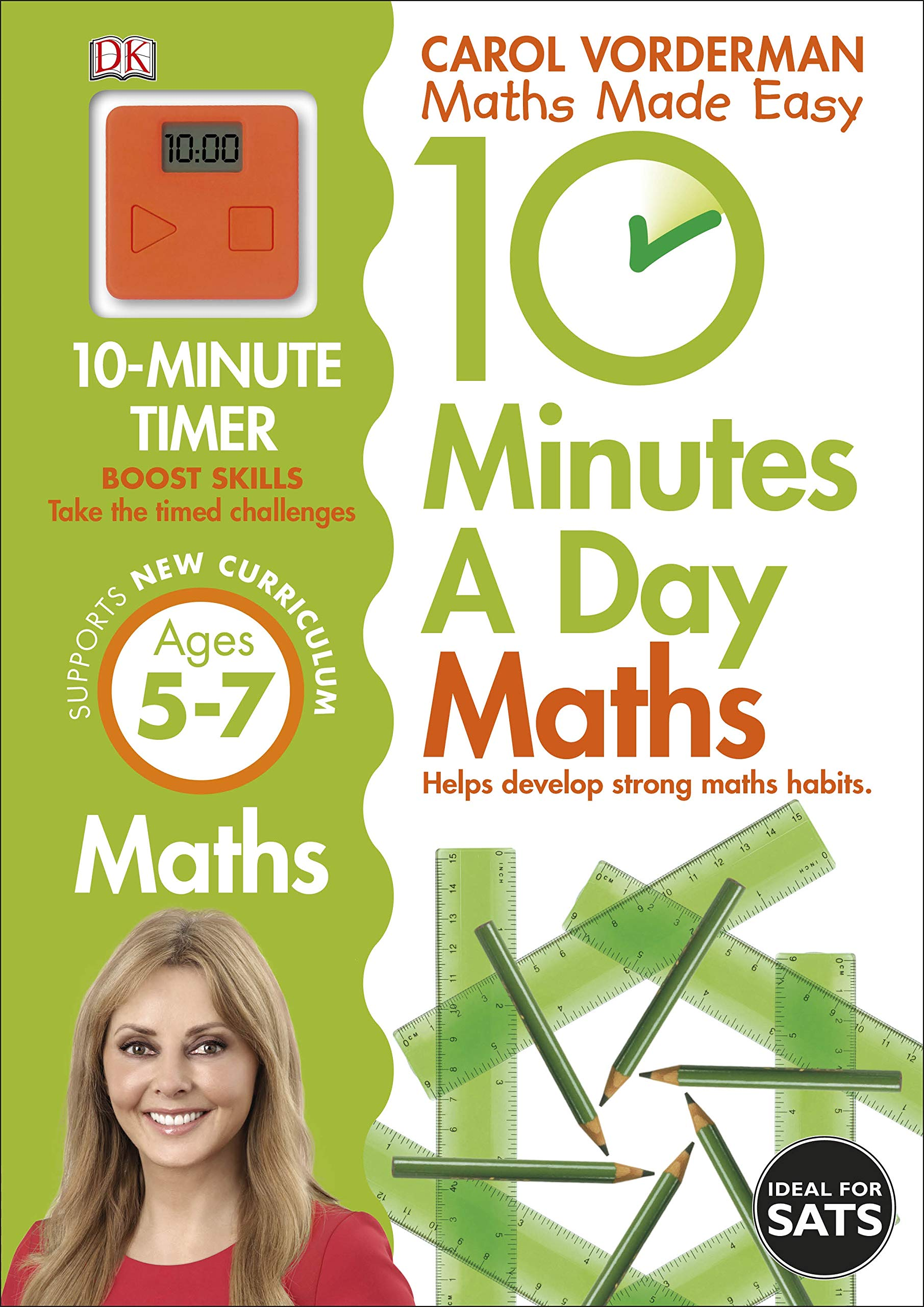 10 Minutes a Day Maths Ages 5-7 Key Stage 1 (Made Easy ...