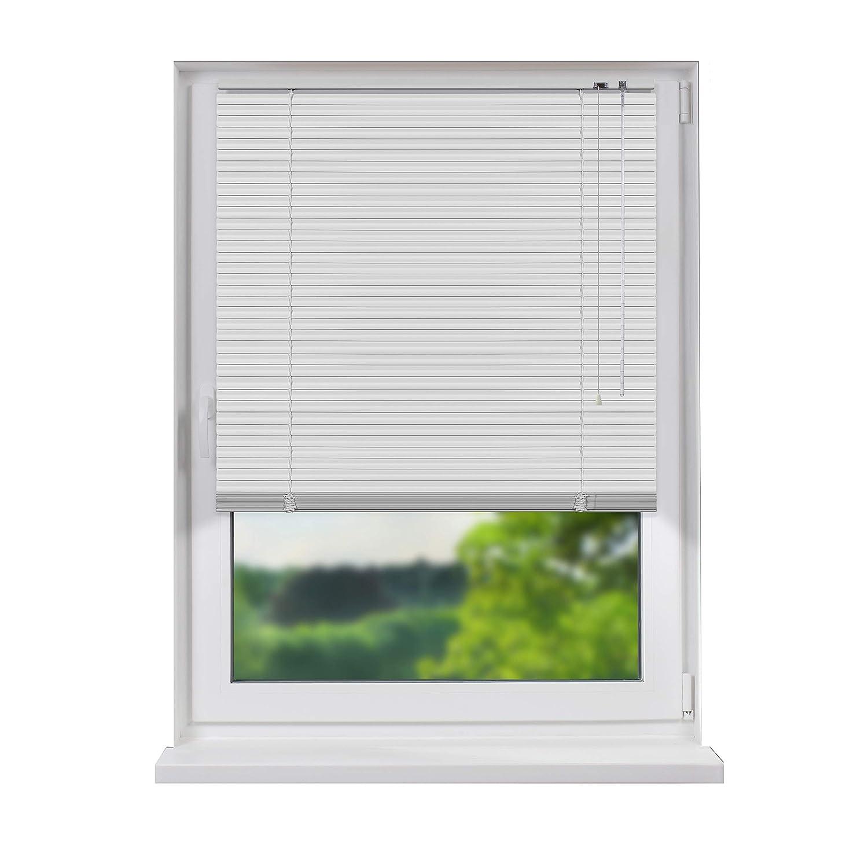 Fensterdecor Standard Aluminium Jalousie Weiß 200 x 240 cm (BxH)