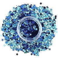 Stargazer Estrellas, Maquillaje de ojos con brillos (Azul) - 1 unidad
