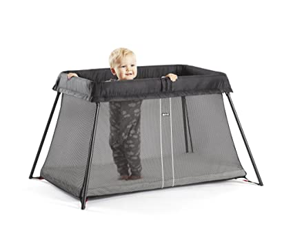 42dda219d2e Image Unavailable. Image not available for. Colour  BABYBJÖRN Travel Cot  with Fitted Sheet ...