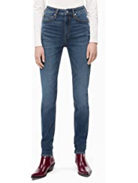 Calvin Klein Women's CKJ 010 High Rise Skinny Fit Jean