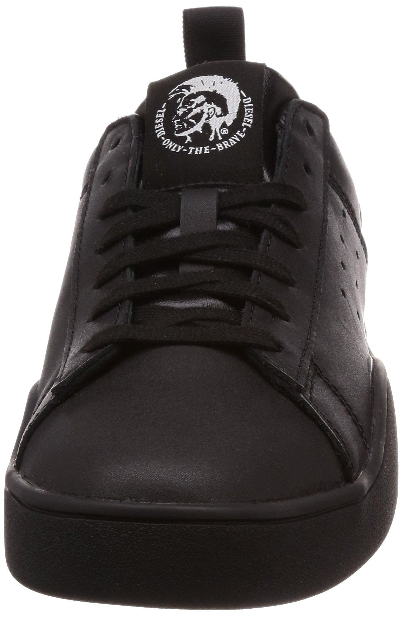 Diesel Men's S-Clever Low-Sneakers Black, 8 M US by Diesel (Image #4)