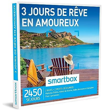 Smartbox 3 Jours de Rêve en Amoreux –Caja regalo con