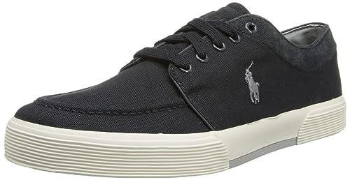Polo Ralph Lauren - Zapatillas para Hombre Gris Dark Carbon Grey ...