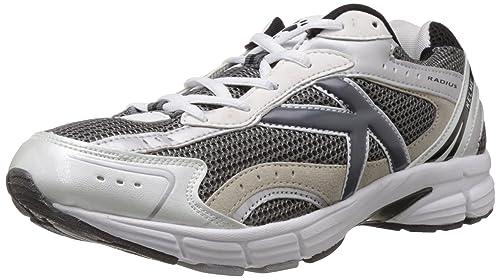 a1178c1c5 Kelme Men s Radius Dark Grey and White Mesh Running Shoes - 11 UK  (146765824)