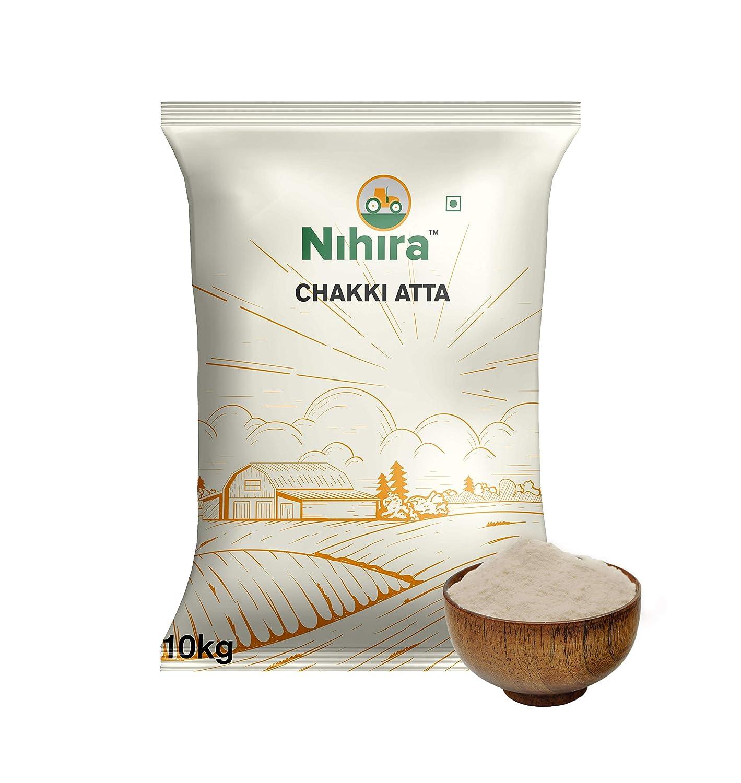 [Pantry] Nihira Whole Wheat Chakki Atta, 10 kg