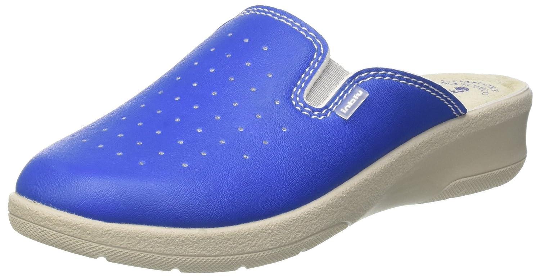 INBLU 50000034, Pantofole Aperte sulla Caviglia Donna Blu (Jeans)