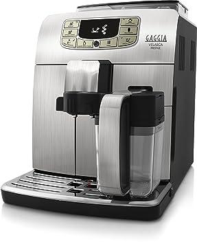 Gaggia RI8263/01 - Cafetera (Independiente, Máquina espresso, 1,5 L, Granos de café, De café molido, Molinillo integrado, Acero inoxidable): Amazon.es: ...