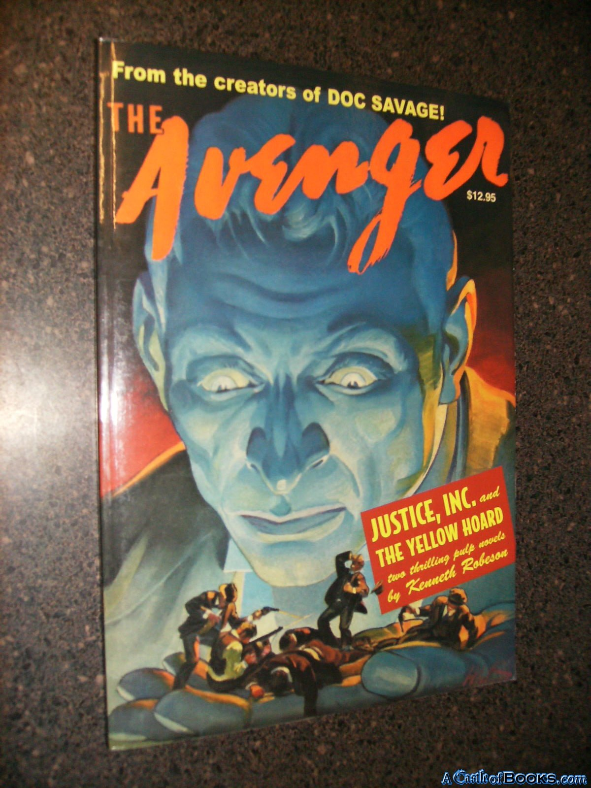 Read Online THE AVENGER #1 (DOUBLE) (1) ebook