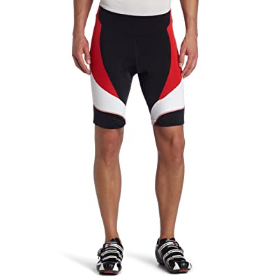 Gore Bike Wear Men's Power 2.0 Tights Short, Black/Red, Small
