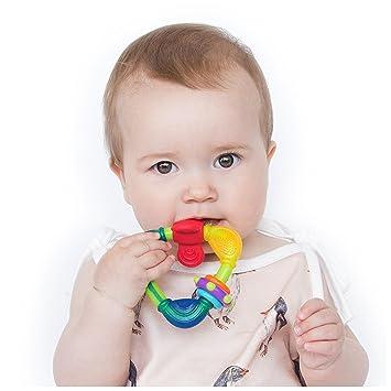 Nuby Spin N Teethe  Teether 3 months+