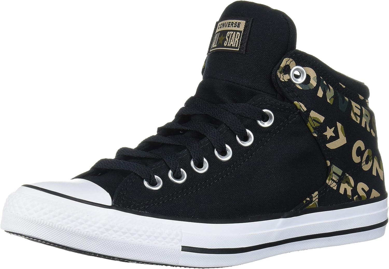 Indulgente Mentor Elegante  Amazon.com | Converse Men's Chuck Taylor All Star Logo Camo Print Street High  Top Sneaker | Fashion Sneakers