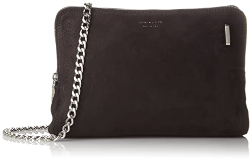Bag Kara, Womens Cross-Body Bag, Black (Black), 7x20x25 cm (B x H x T) Strenesse